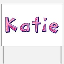 Katie Pink Giraffe Yard Sign