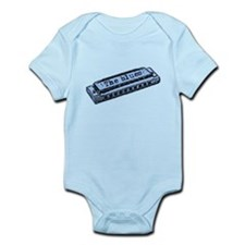 The Blues Harp Infant Bodysuit
