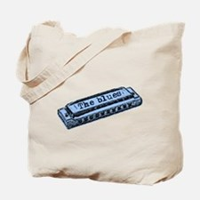 The Blues Harp Tote Bag