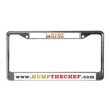 Hump The Chef License Plate Frame