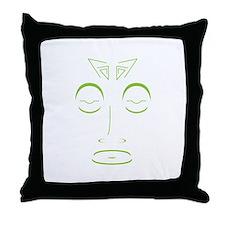 ZaZa GaGa dark Throw Pillow