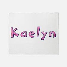 Kaelyn Pink Giraffe Throw Blanket