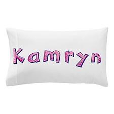 Kamryn Pink Giraffe Pillow Case