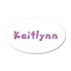 Kaitlynn Pink Giraffe Wall Decal