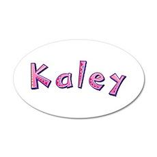 Kaley Pink Giraffe Wall Decal