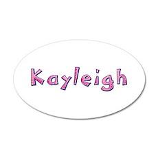 Kayleigh Pink Giraffe Wall Decal