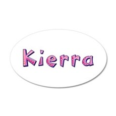 Kierra Pink Giraffe Wall Decal