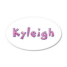 Kyleigh Pink Giraffe Wall Decal