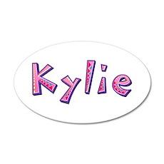 Kylie Pink Giraffe Wall Decal