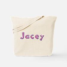 Jacey Pink Giraffe Tote Bag