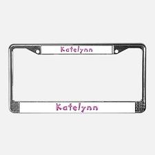 Katelynn Pink Giraffe License Plate Frame