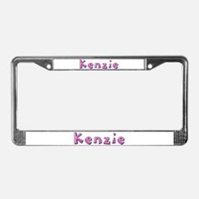 Kenzie Pink Giraffe License Plate Frame