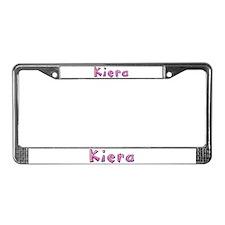 Kiera Pink Giraffe License Plate Frame