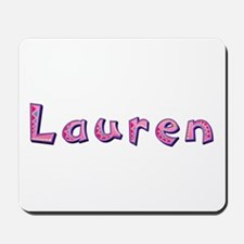 Lauren Pink Giraffe Mousepad