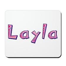 Layla Pink Giraffe Mousepad