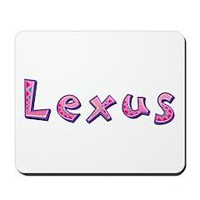 Lexus Pink Giraffe Mousepad