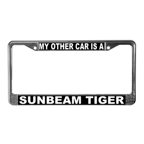 My Other Car Is A Sunbeam Tiger License Frame #3