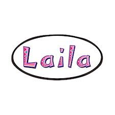 Laila Pink Giraffe Patch