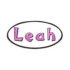 Leah Pink Giraffe Patch