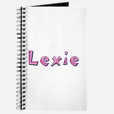 Lexie Pink Giraffe Journal
