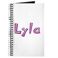 Lyla Pink Giraffe Journal