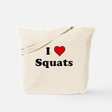 I Heart Squats Tote Bag
