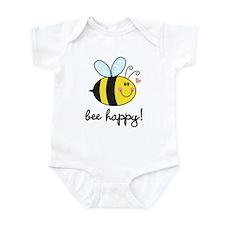 Bee Happy Body Suit Infant Bodysuit
