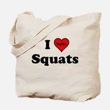 I Heart (hate) Squats Tote Bag