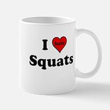 I Heart (hate) Squats Mugs