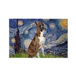 Starry / Boxer Rectangle Magnet