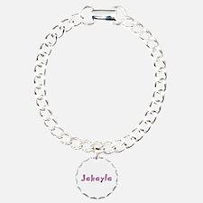 Jakayla Pink Giraffe Bracelet