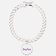 Jaylee Pink Giraffe Bracelet