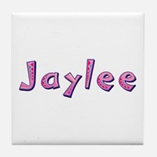 Jaylee Pink Giraffe Tile Coaster