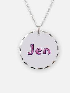 Jen Pink Giraffe Necklace