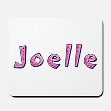 Joelle Pink Giraffe Mousepad