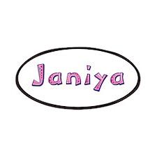 Janiya Pink Giraffe Patch
