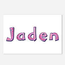 Jaden Pink Giraffe Postcards 8 Pack