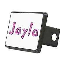Jayla Pink Giraffe Hitch Cover