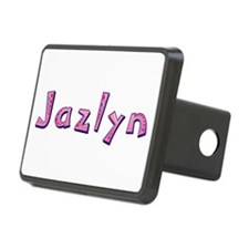Jazlyn Pink Giraffe Hitch Cover