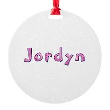 Jordyn Pink Giraffe Ornament