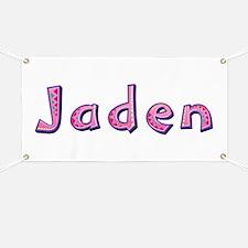 Jaden Pink Giraffe Banner