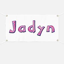 Jadyn Pink Giraffe Banner
