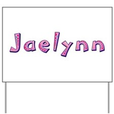 Jaelynn Pink Giraffe Yard Sign