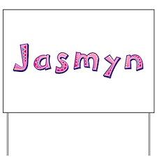 Jasmyn Pink Giraffe Yard Sign