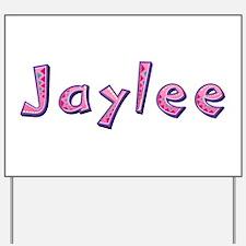 Jaylee Pink Giraffe Yard Sign