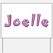 Joelle Pink Giraffe Yard Sign