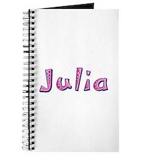 Julia Pink Giraffe Journal