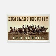 HOMELAND SECURITY - OLD SCHOOL Rectangle Magnet