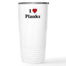 I Heart Planks Travel Mug
