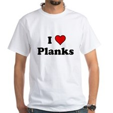 I Heart Planks T-Shirt
